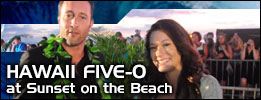 Hawaii Five-0 Sunset at the Beach premiere