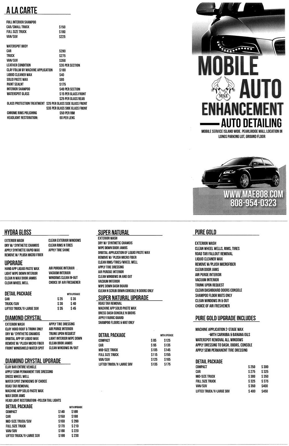 Automatic Car Wash Honolulu