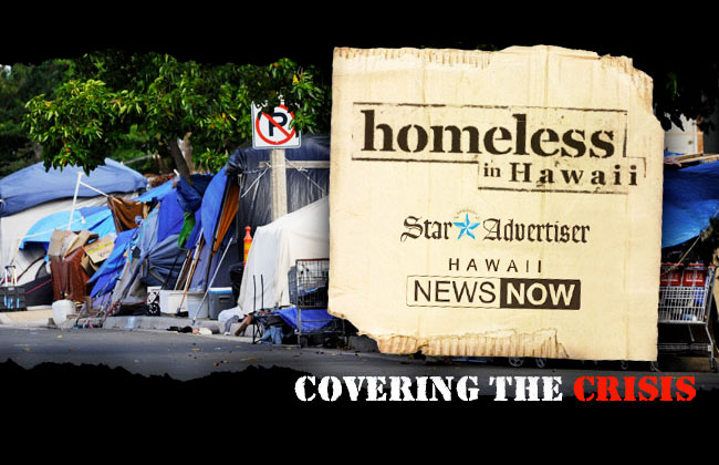 Homeless in Hawaii — Covering the Crisis