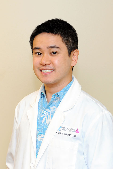 Dr. David Nguyen, a neurologist and medical director of the Stroke Center at Pali Momi Medical Center