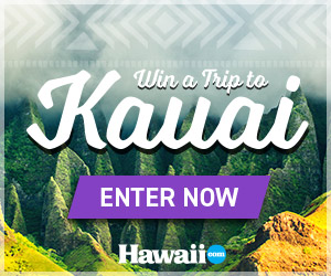 Win a Trip to Kauai, Hawaii!