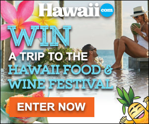 Enter to win a trip to the Hawaii Food & Wine Festival