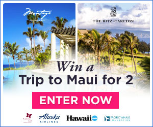 Enter to win a Kapalua Resort Dream Holiday for two
