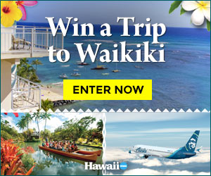 Enter to win a Waikiki Resort Suite Excursion for two