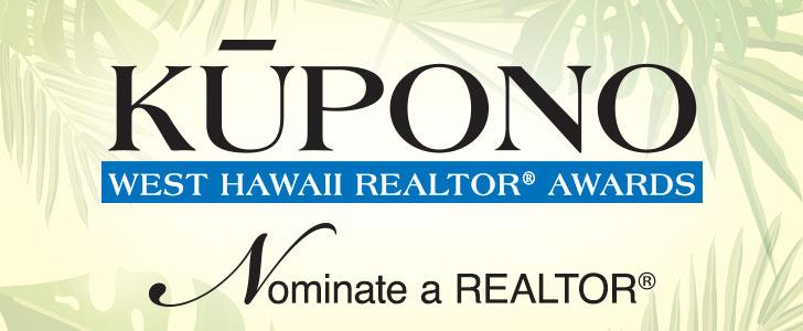 Kūpono West Hawaii Realtor® Awards