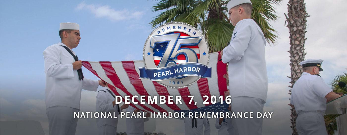 Pearl Harbor 75th Anniversary Coverage