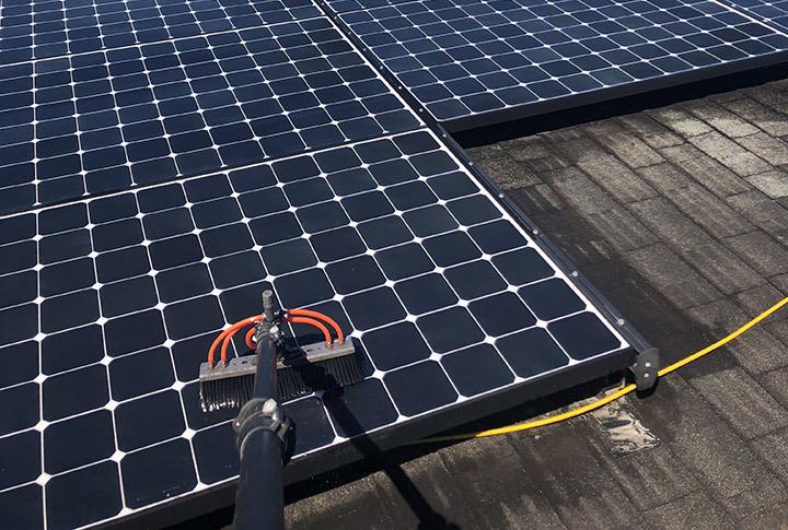 Clean Solar Panels Hawaii