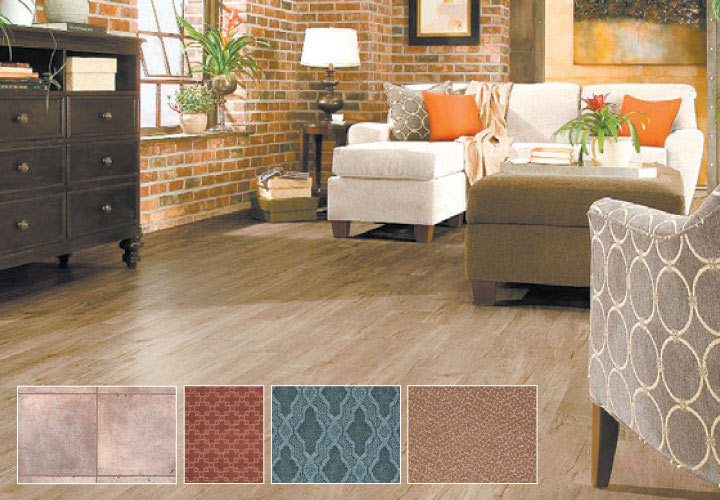 floor and tile samples