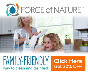 A family-friendly way to clean and disinfect